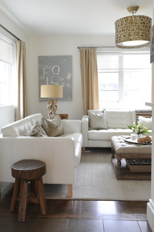 hanging chair loveseat truck tailgate chairs white leather tufted sofa - transitional living room moth design