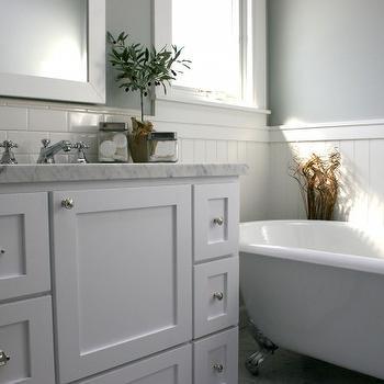 beadboard chair rail ikea spinning bathroom design ideas