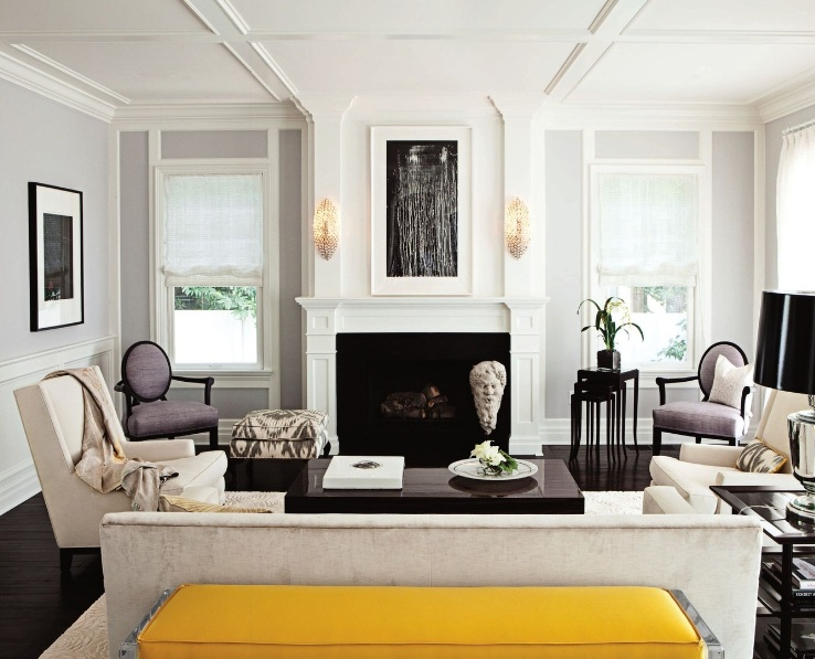 yellow bench transitional living