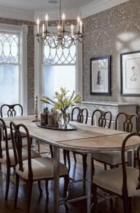 Elegant Wallpaper For Dining Room - Interior Decorating ...