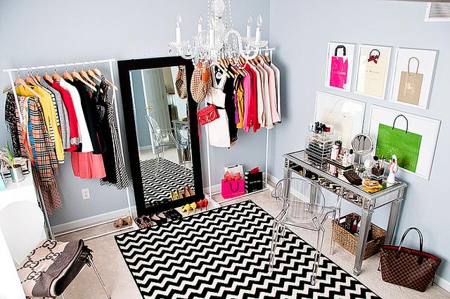 Home Goods Mirror  Contemporary  closet  Benjamin Moore