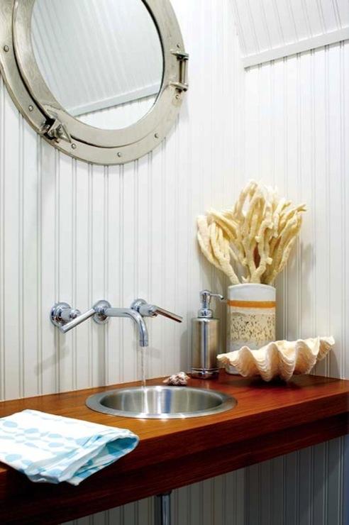 Floating Bathroom Vanity  Cottage  bathroom  Kathleen