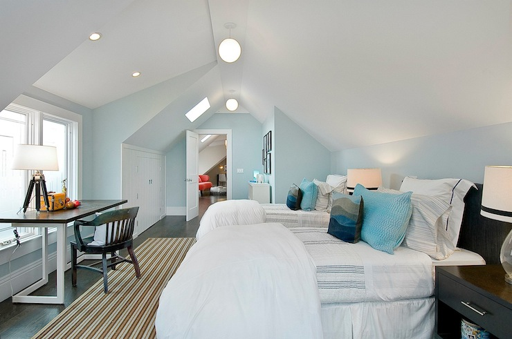 White And Blue Boys Bedroom