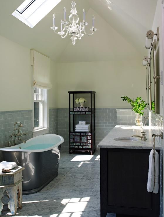 Skylight Bathroom  Traditional  bathroom  Bella Mancini