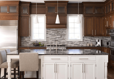 Two Tone Kitchen Cabinets Design Ideas Decorpad