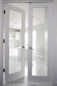 Bathroom French Doors - Transitional - bathroom - Rachel ...