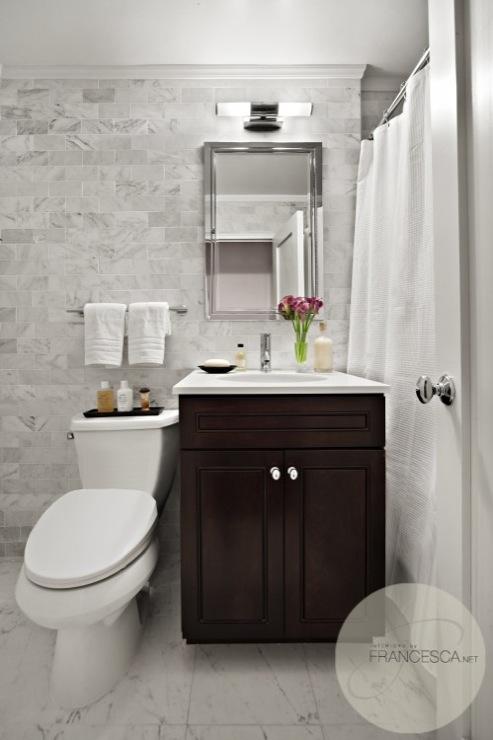 Espresso Bathroom Vanity  Transitional  bathroom