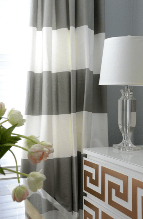 Horizontal Striped Curtains Design Ideas
