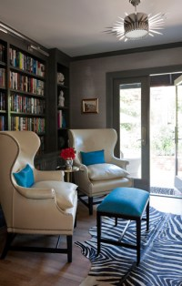 Taupe Color Paint - Contemporary - den/library/office ...