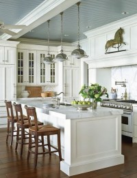 Beadboard Ceiling - Country - kitchen - Traditional Home