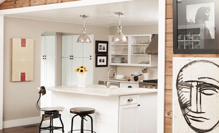 Vintage Architects Stools Cottage Kitchen Blair