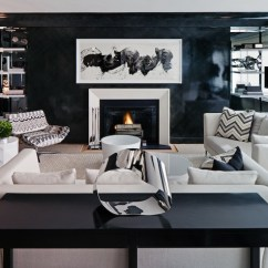 Modern Black Living Room Home Decoration Pictures White And Contemporary Haus Interior
