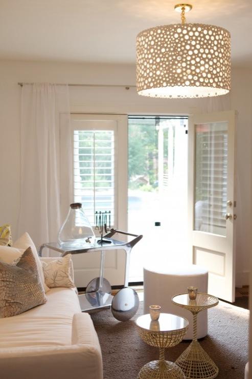 sofa chaise lounge slipcover ikea kivik corner meri drum chandelier - transitional living room ...