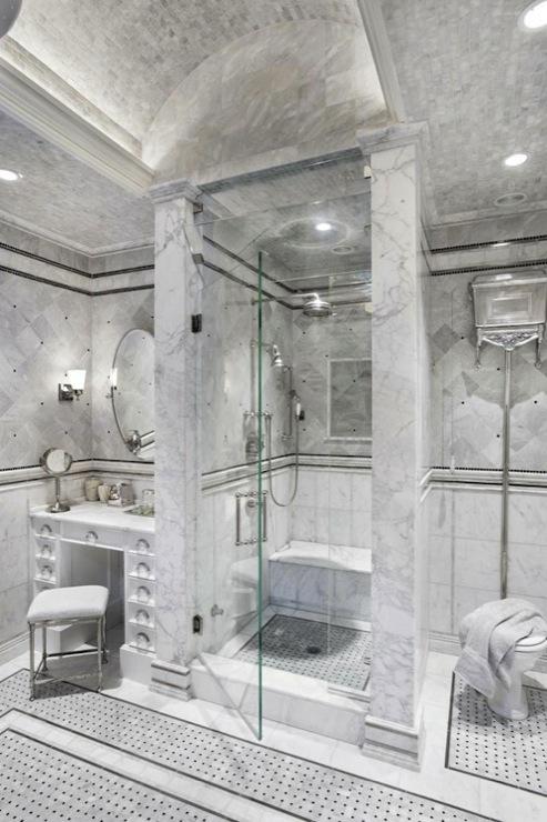 Oval Marble Tiles Design Ideas