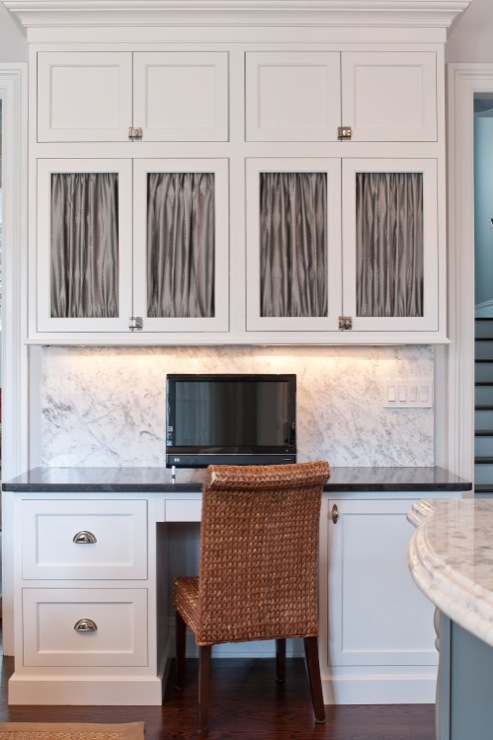 Kitchen Office  Transitional  kitchen  Town  Country