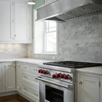 Carrara Marble Backsplash Design Ideas
