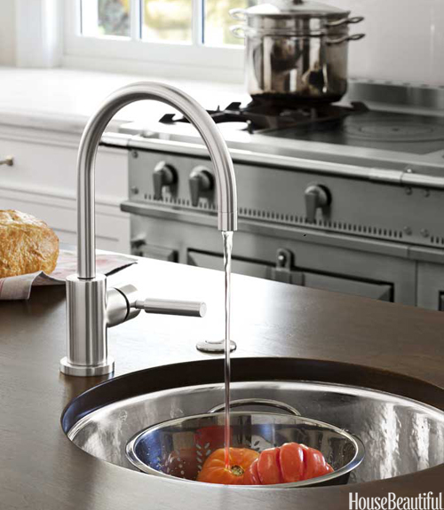 dornbracht faucet kitchen prep sink design ideas