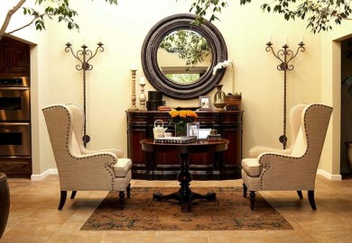 Wingback Chairs With Nailhead Trim