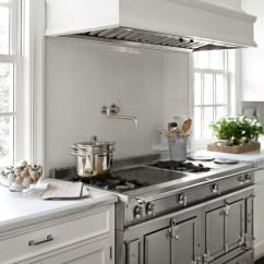 La Cornue Kitchen Counter Overhang Chateau 150 Range Transitional House Beautiful