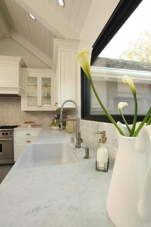 Sloped Kitchen Ceiling Design Ideas