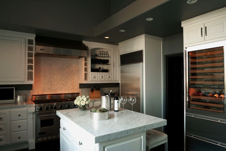 Charcoal Gray Cabinets  Design decor photos pictures ideas inspiration paint colors and