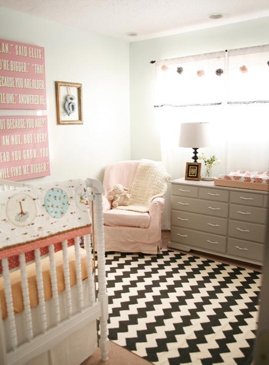 Vintage Baby Girl Nursery  Vintage  nursery  On to Baby