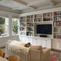 Living Room Built In Cabinets - Design, decor, photos ...