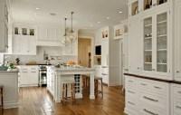 Kitchen Island Wine Rack - Traditional - kitchen - Crisp ...