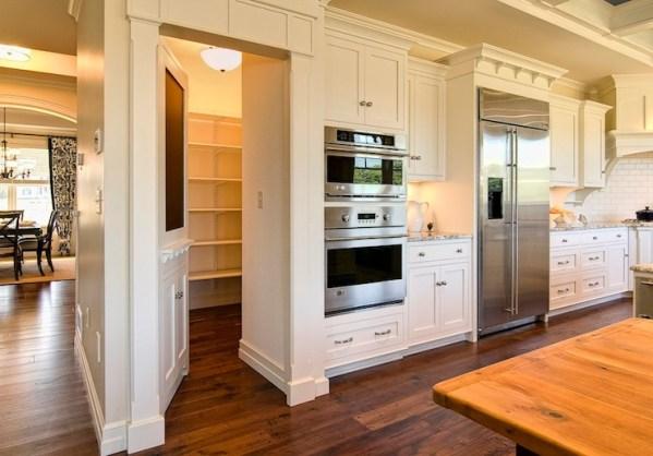 hidden kitchen pantry cabinets Hidden Walk In Pantry Design Ideas