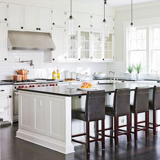 Cloud White Kitchen Cabinets  Transitional  kitchen