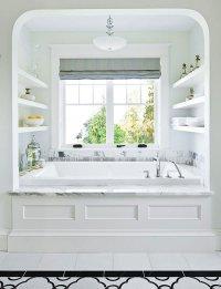 Bathtub Alcove - Transitional - bathroom - Traditional Home