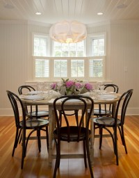 Black Bentwood Chairs - Contemporary - dining room ...