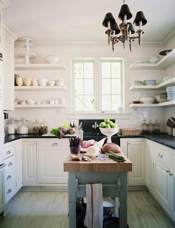U Shaped Kitchen Design  Transitional  kitchen  Lonny Magazine