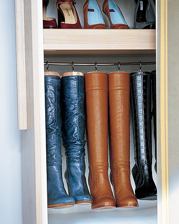 Boot Rack Ideas  Transitional  Closet  Martha Stewart