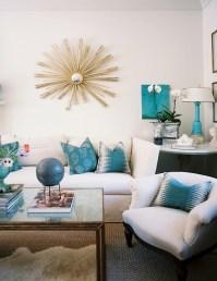 Turquoise Blue Sofa Design Ideas
