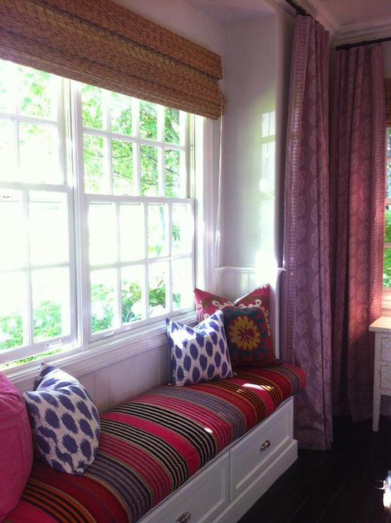 Window Seat in Bedroom  Contemporary  bedroom  Amber