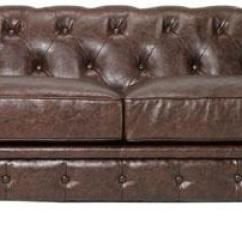 Home Decorators Tufted Sofa Double Bed Best Price Restoration Hardware Kensington Leather Look 4 Less Collection Gordon View Full Size