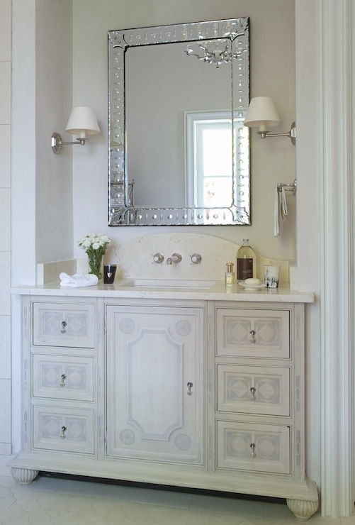 French Bathroom Vanity  French  bathroom  Phoebe Howard