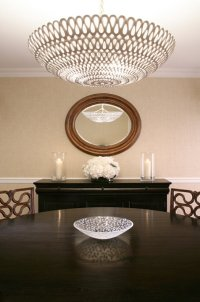 Oly Studio Pipa Bowl Chandelier - Contemporary - dining ...
