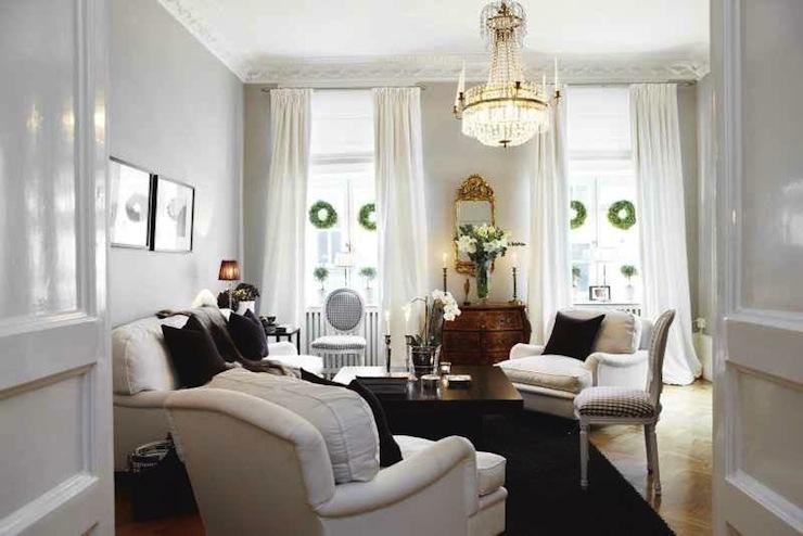 Swedish Living Room Design  French  living room  Skonahem