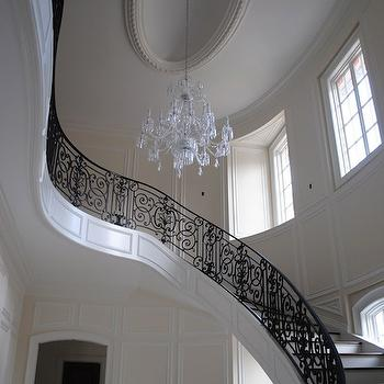 Chinese Chippendale Stair Railing Design Ideas