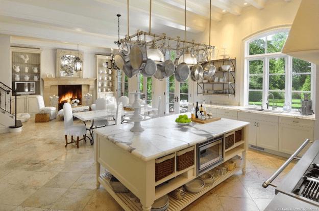 kitchen island storage - french - kitchen - de giulio kitchen design