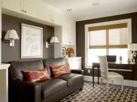 Chocolate Brown Walls Living Room - [peenmedia.com]