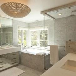 Tufted Blue Chair Office Chairs Sale Carrara Marble Tile Bathroom Design Ideas