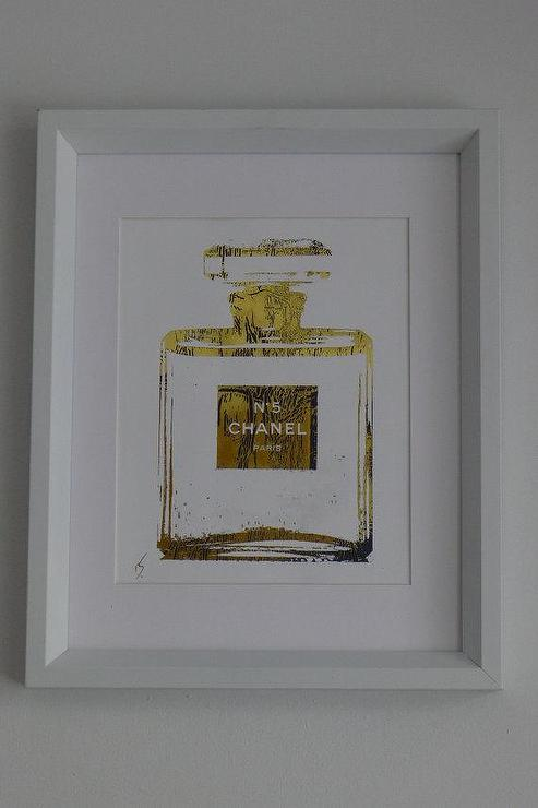 Chanel No 5 Perfume Bottle 24K Gold by ISeeNoise on Etsy