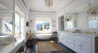 French Bathroom Design - French - bathroom - Pricey Pads