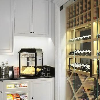 Pantry Built In Coffee Maker Design Ideas