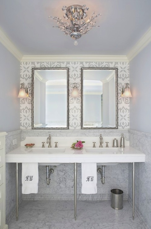 Glam Bathroom  Contemporary  bathroom  Mahogany Builders