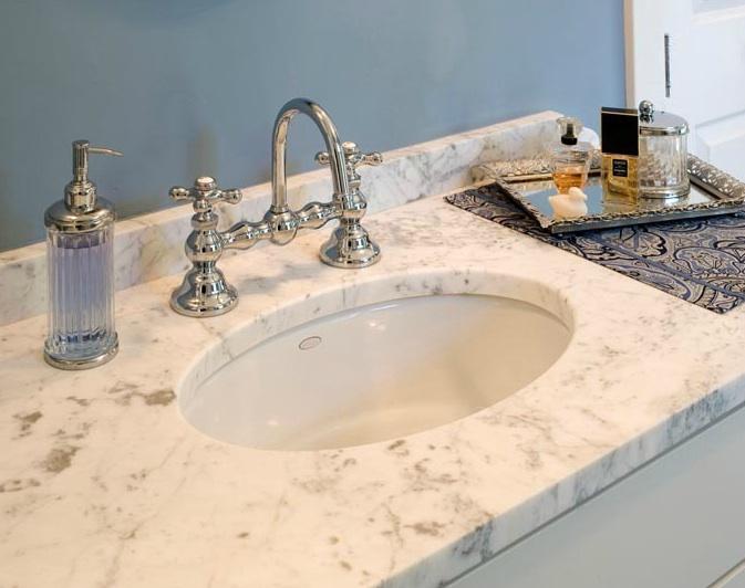 bridge faucet bathroom sink image of