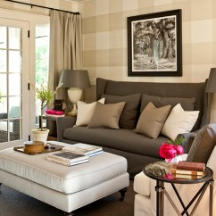 Gray Velvet Slipcover Sofa Leather Sofas Ashley Furniture Wingback - Cottage Living Room Southern